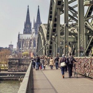 Brücke Köln - Instagram-Spots