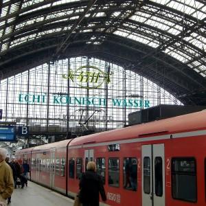 Köln Hbf Zug - Instagram-Spots