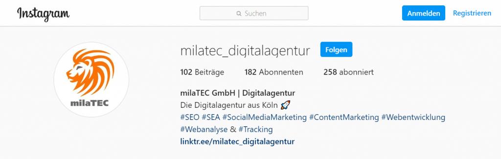 MilaTEC Business Profil