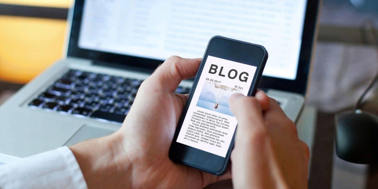 Microblog auf dem Handy