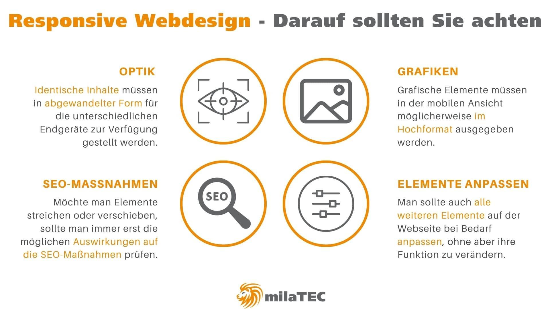 Responsive Webdesign - zu beachten