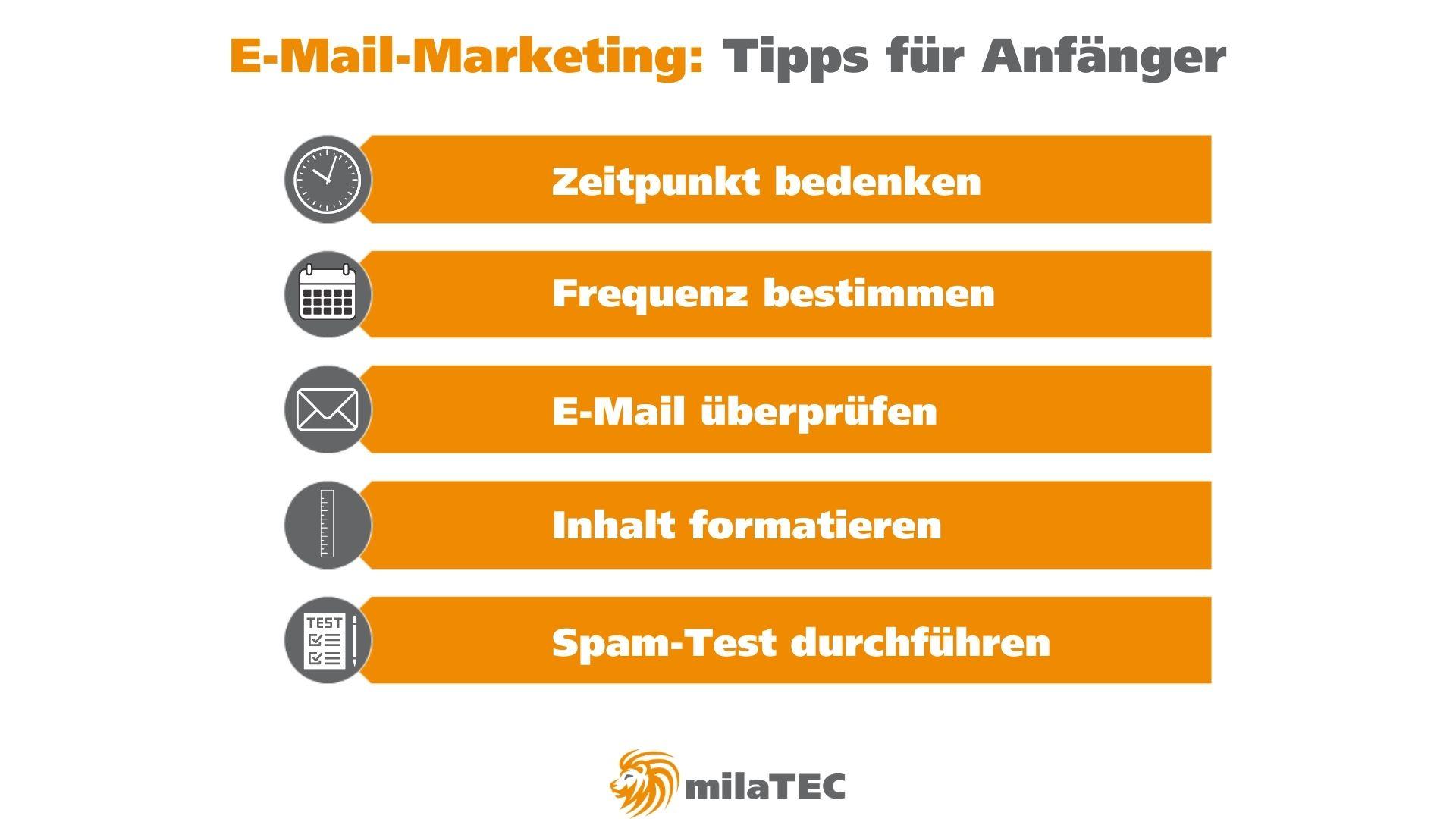 E-Mail-Marketing-Tipps für Anfänger