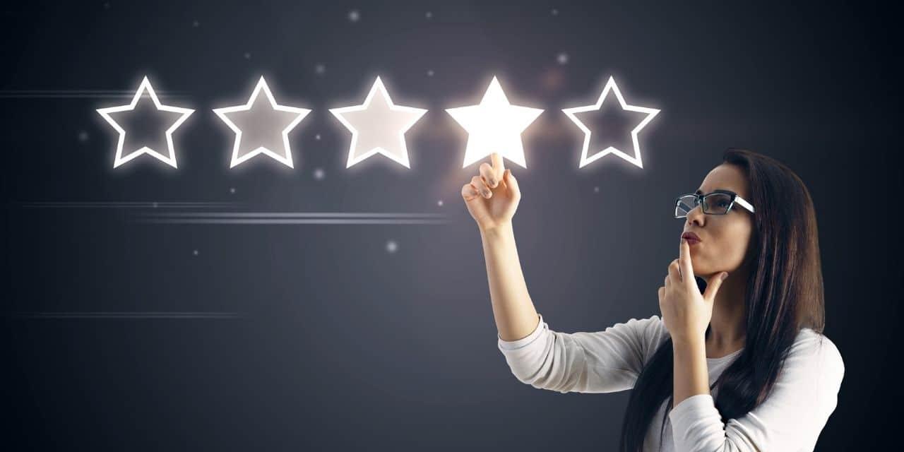 Bild Bewertung mit Sternen