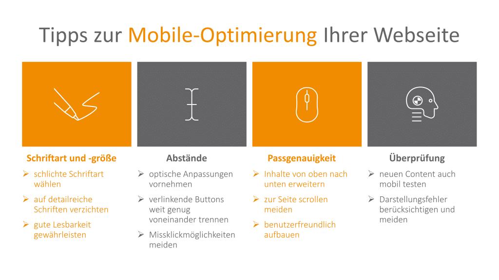 Tipps für Mobile Optimierung