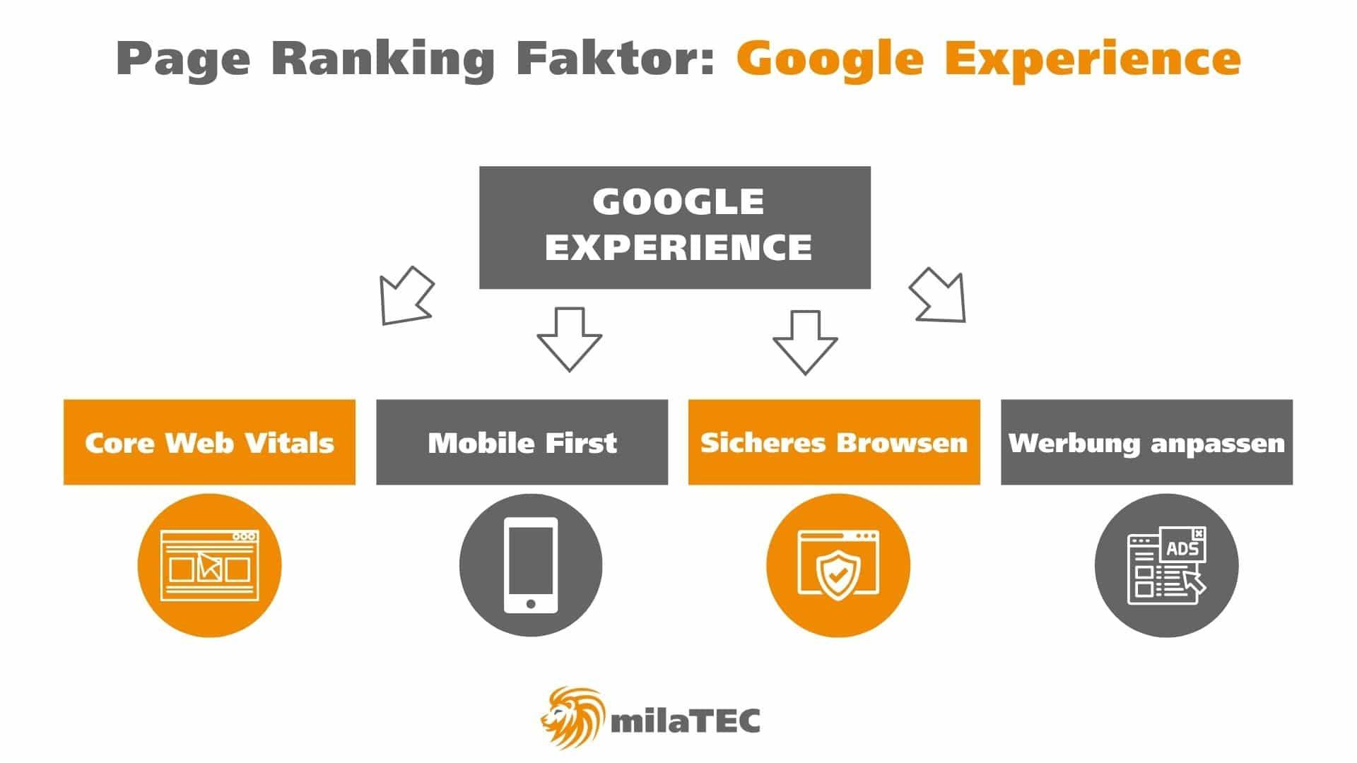 Google Experience Grafik